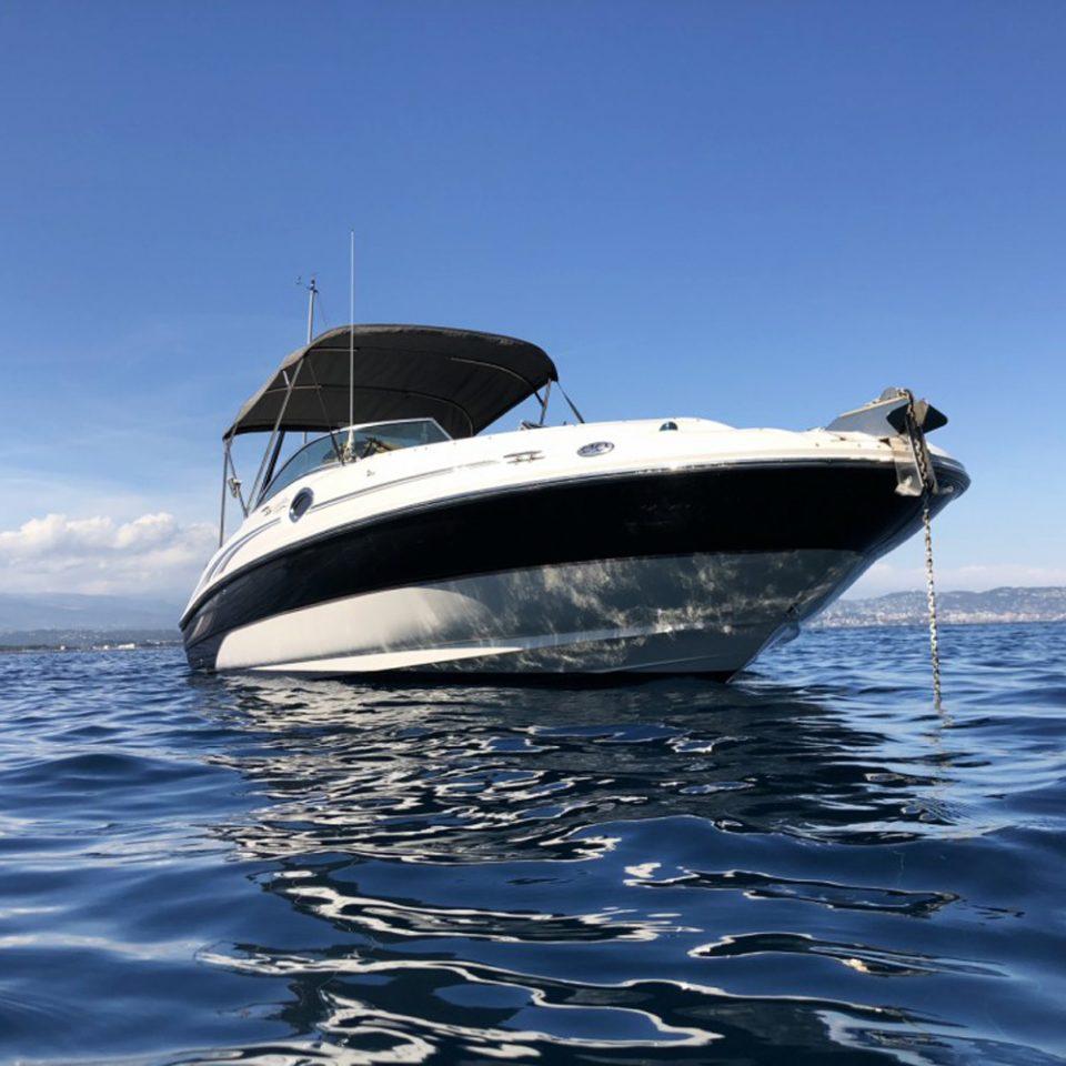 Sortie en mer avec un Sea Ray 240 Sundeck