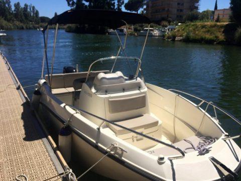 Bateau 5 personnes Quick Silver Boat 505