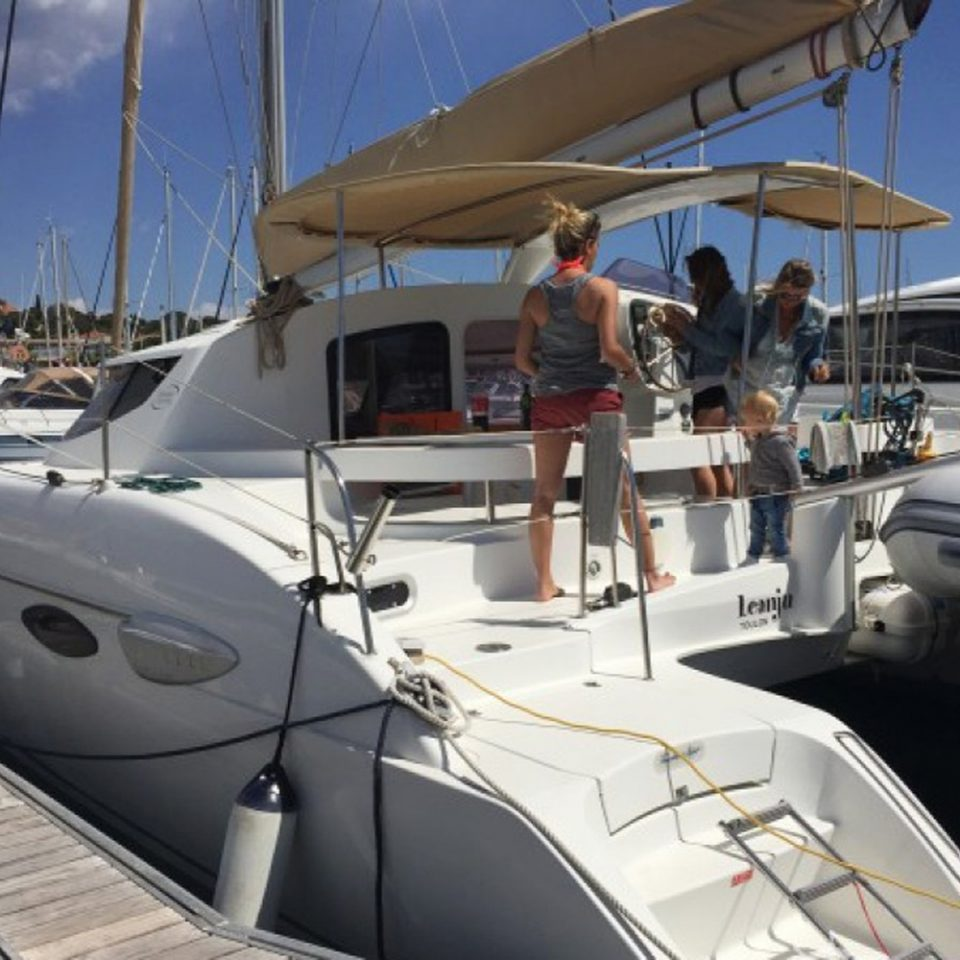 Catamaran à louer St Raphael