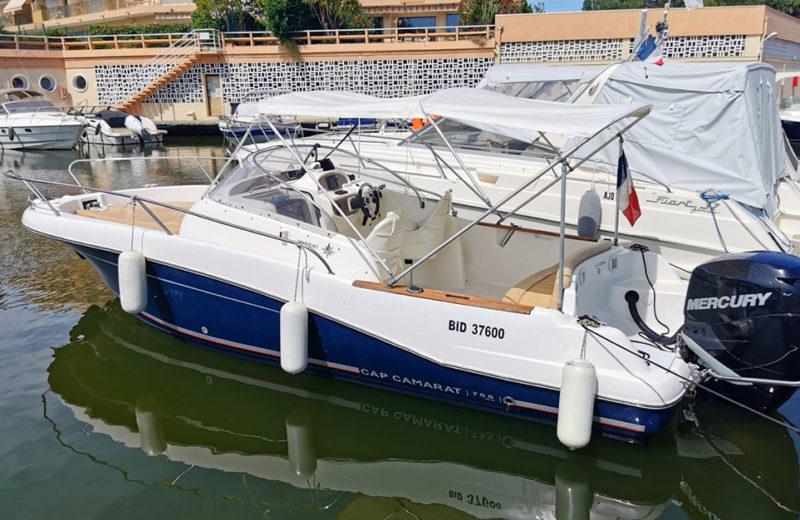 Baateau à louer à Mandelieu - Cap Camarat 755WA - Passionboat Mandelieu