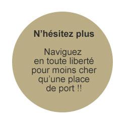Liberty Pass de Passion Boat - Naviguer en toute liberté - Moins cher qu'une place de port!!