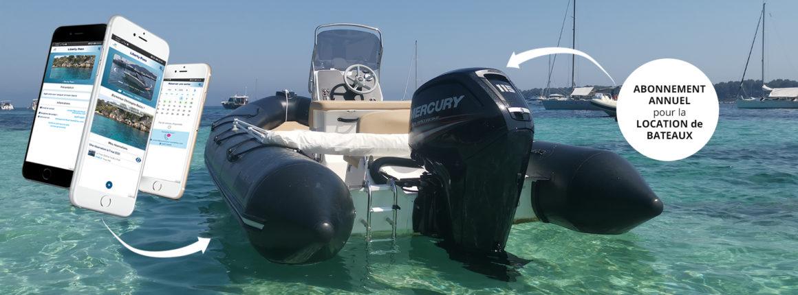 Lancement du Liberty Pass de PassionBoat. Abonnement annuel pour la location de bateaux. Application dédiée