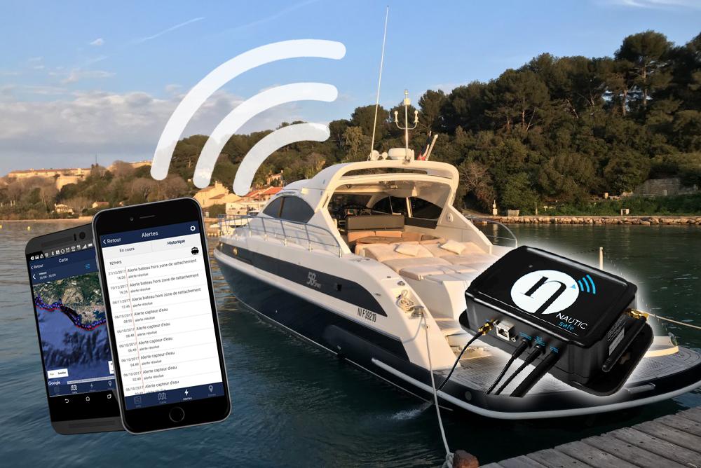 Passionboat Mandelieu - Solutions connectées pour les professionnels du nautisme - Boitier Nautisafe