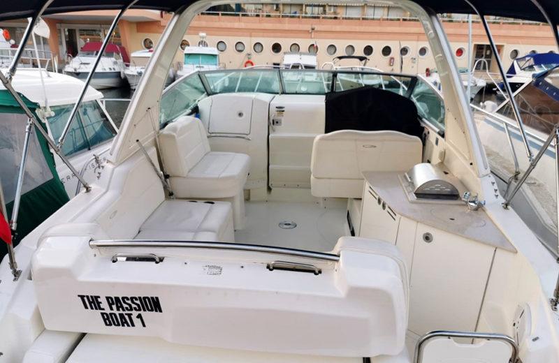 Maxum 2900 SE à louer sur la Côte d'Azur - PassionBoat Mandelieu