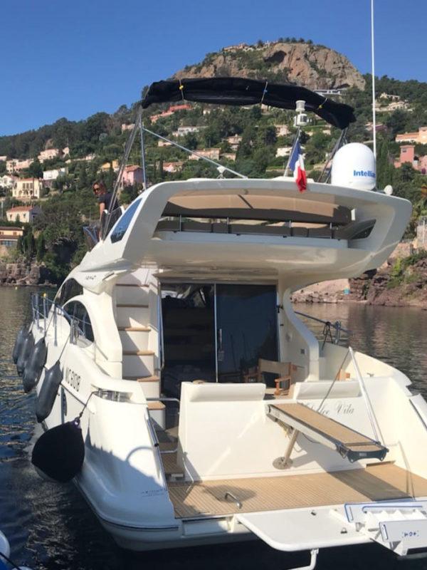Passion boat - Bateau à louer 6 personnes Côte d'Azur: Azimut 43