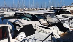 Passion boat Mandelieu - Location Sea Ray 320 DA pour 10 personnes sur la Côte d'Azur