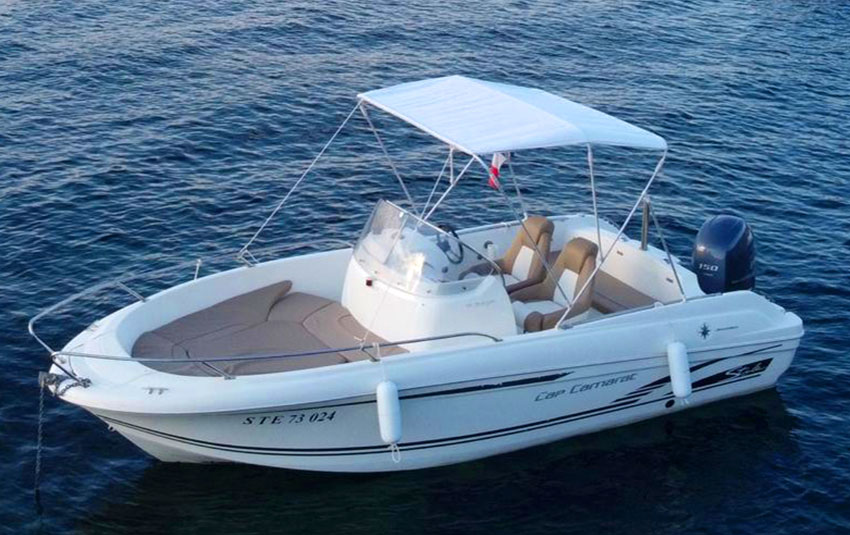 Cap Camarat 6.5 en Liberty Pass illimité Mandelieu- Passionboat